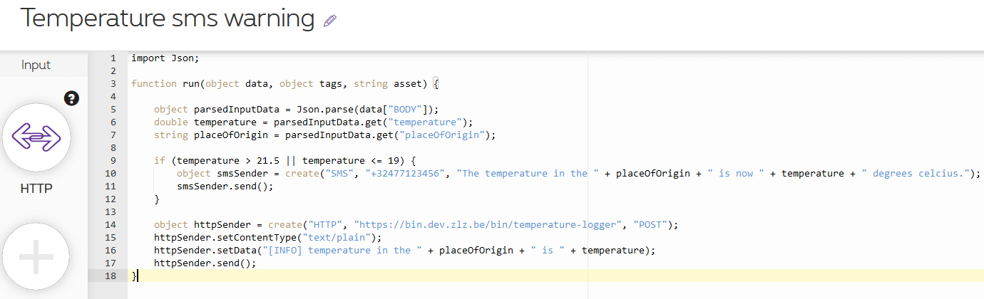 simplified script