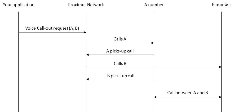 Example flow for VCA API Call