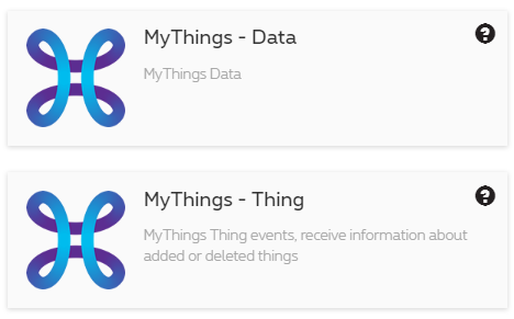 MyThings CloE endpoints